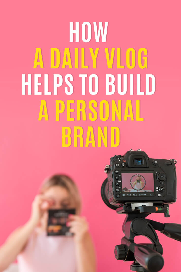 If someone would tell you that you could build your personal brand within a year, would you put effort into it? Learn how to grow your personal brand with a daily vlog and become a recognized expert, via @MarinaBarayeva. #youtubetips #youtubemarketing #personalbrand #personalbranding #business #smallbusiness #smallbiz #entrepreneur #entrepreneurship #businesstips #marketing #mompreneur #ladyboss