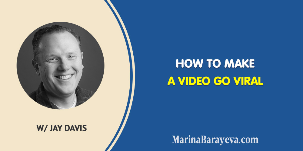Learn how to make a video go viral. A viral video is any video that is spread rapidly through online sharing. Is there anything you can do to help it go viral? Actually yes. You will know how to plan, test, and promote your video to make it go viral, via @MarinaBarayeva. #youtubetips #youtubemarketing #personalbrand #personalbranding #business #smallbusiness #smallbiz #entrepreneur #entrepreneurship #businesstips #marketing #mompreneur #ladyboss