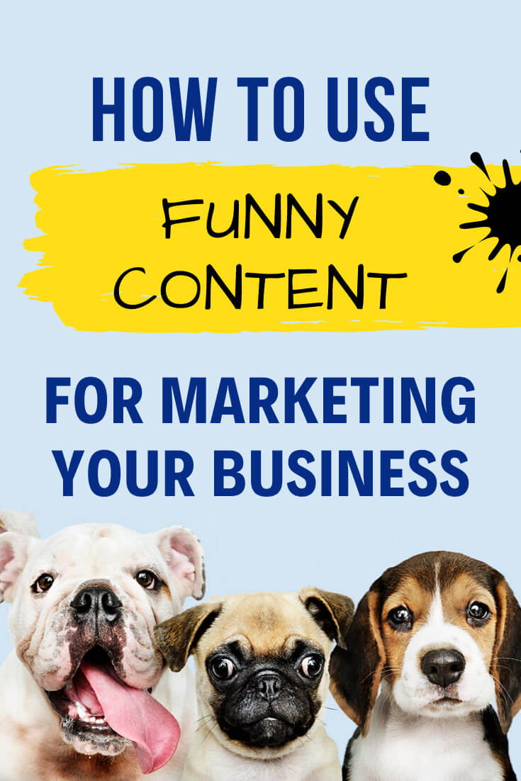 How to use fun content marketing in business. Understanding your audience and knowing their pain points is still important, but let's show them with a fun perspective, via @MarinaBarayeva. #contentmarketing #onlinemarketing #business #smallbusiness #smallbiz #entrepreneur #entrepreneurship #businesstips