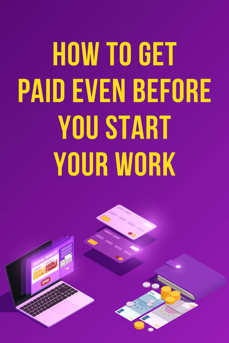 Have you ever wondered how to get paid even before you start work? Learn how to get paid 100% up-front. We'll get into the details on how to ask about getting paid 100% up-front, how to overcome the common obstacles like if a client says, 'it's expensive' and how to get this deal. #selling #business #smallbusiness #smallbiz #entrepreneur #entrepreneurship #businesstips #marketing #mompreneur #ladyboss