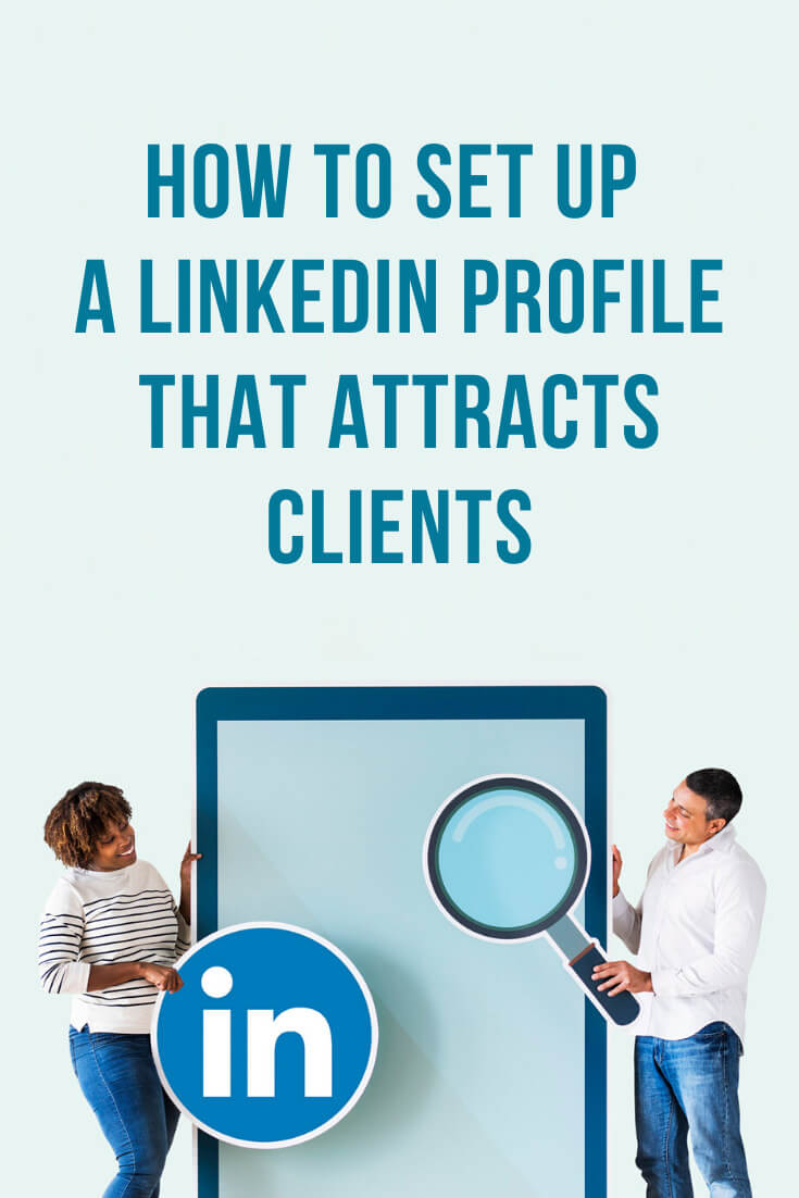 Learn how to set up a LinkedIn profile that attracts clients. When you connect with people the effective way to build the trust is to have a stunning LinkedIn profile that will tell people that you're the one who can solve their problems. #linkedin #linkedinmarketing #linkedintips #socialmedia #socialmediatips #socialmediamarketing #smm #socialselling #entrepreneur #business #smallbusiness