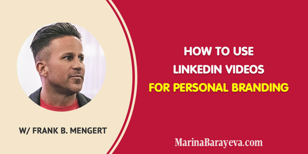Learn how to use LinkedIn videos for personal branding. You'll know everything you need to start with and succeed in creating videos on LinkedIn. #linkedin #linkedinmarketing #socialmedia #socialmediatips #socialmediamarketing #business #smallbusiness #smallbiz #entrepreneur #entrepreneurship #businesstips #marketing #mompreneur #ladyboss
