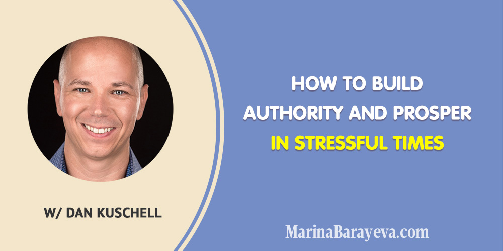 Learn how to build authority and prosper in stressful times. While everyone stays home build relationships and grow your personal brand. Because people all around the world spend more time than ever online and on social media, via @MarinaBarayeva. #personalbrand #personalbranding #business #smallbusiness #smallbiz #entrepreneur #entrepreneurship #businesstips #marketing #mompreneur #ladyboss