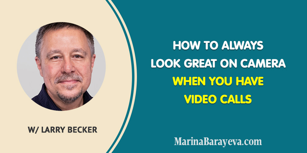 Learn how to always look great on camera for Zoom, FaceTime or Skype. You'll be surprised how these little tricks will make you look good on camera even without a fancy equipment. #zoom #skype #facetime #videomarketing #business #smallbusiness #smallbiz #entrepreneur #entrepreneurship #businesstips #marketing #mompreneur #ladyboss